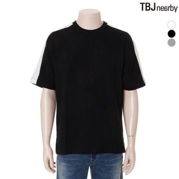 [TBJ]유니 어깨배색 루즈핏 티셔츠(T172TS003P)