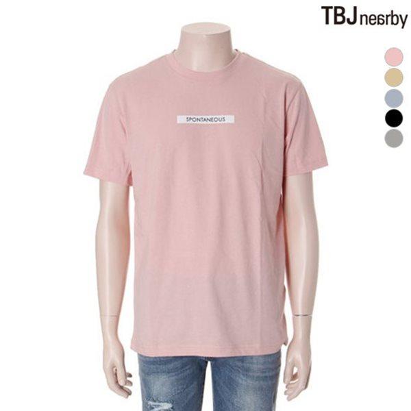 [TBJ]유니 30수 싱글 심플 그래픽 티셔츠(T172TS001P)