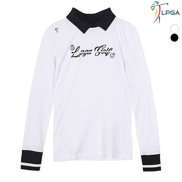 [LPGA]여성 변형 에리 터틀넥 티셔츠(L181TS552P)