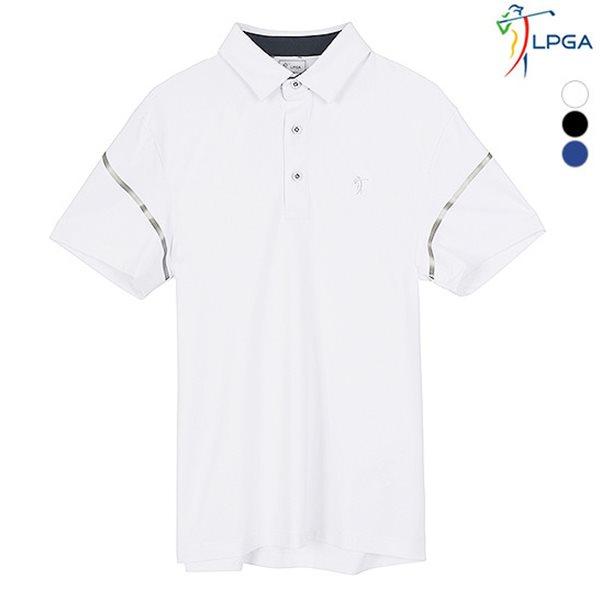 [LPGA]남성 웰딩포인트 제에리 티셔츠 기획(L182TS927P)