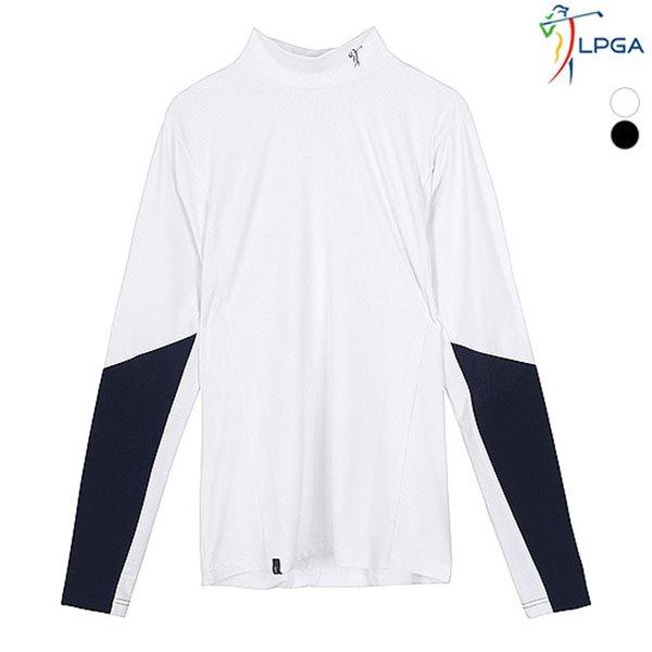 [LPGA]남성 소매 배색포인트 이너베이스(L181TS401P)