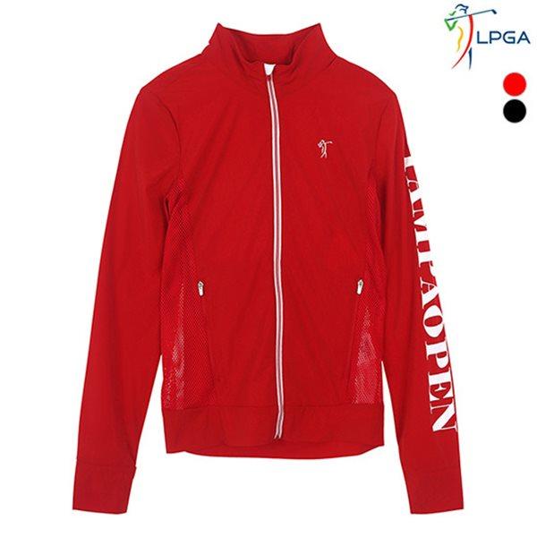 [LPGA]여성 패커블 메쉬패치 스트레치 점퍼(L182JP551P)