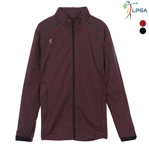 [LPGA]남성 ZIGZAG 패턴 스트레치 점퍼(L181JP101P)