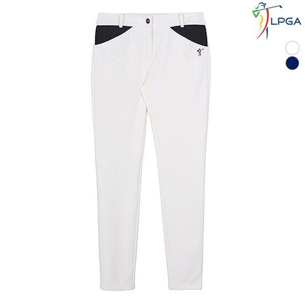 [LPGA]여성 배색포인트 베이직 팬츠 기획(L181PT951P)