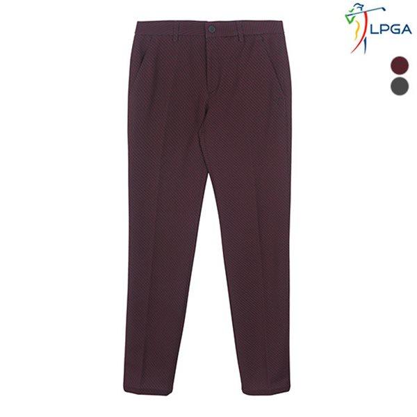 [LPGA]남성 ZIGZAG패턴 스트레치 팬츠(L181PT102P)