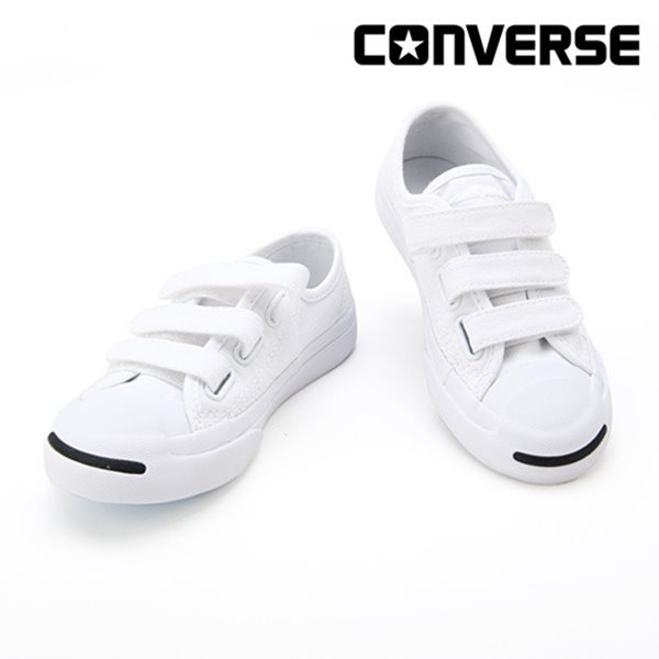 [컨버스키즈] JP 3V OX WHITE/WHITE/WHITE 361308C (키즈)