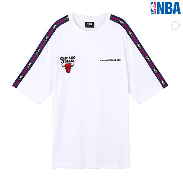 [NBA]CHI BULLS 어깨TAPE 티셔츠(N182TS030P)