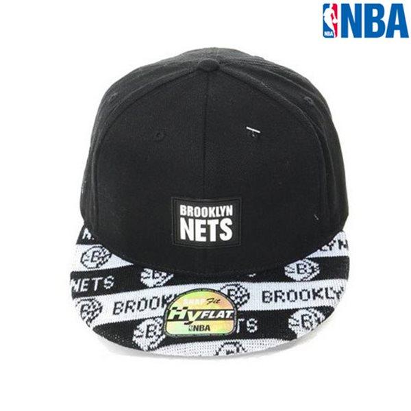 [NBA]BKN NETS 니트챙 HYFLAT FIT CAP(N154AP499P)