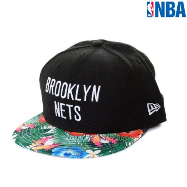 [NBA]BKN NETS 플라워패턴 NEWERA CAP(N155AP641P)