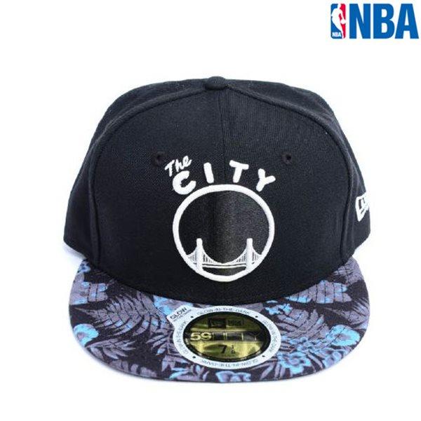 [NBA]CHI MEM GS 플라워패턴챙 CAP(N155AP625P)