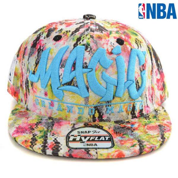 [NBA]ORL MAGIC 전판패턴 HYFLAT CAP?(N152AP607P)