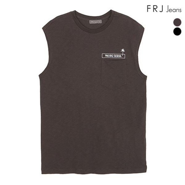 [FRJ] 여름신상 남성 프린트포켓머슬티셔츠 (F82M-TM414A)