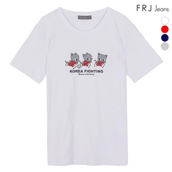 [FRJ] 여름신상 유니 월드컵티셔츠 (F82U-TM614A)