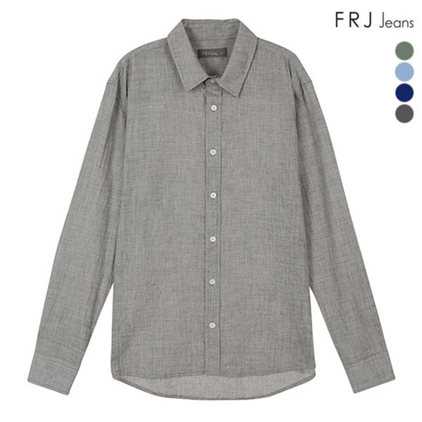 [FRJ] 여름신상 남성 온부소매조직감셔츠 (F86M-SH912B)