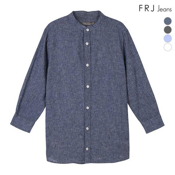 [FRJ] 여름신상 유니 7부소매차이나카라베이직셔츠 (F86U-SH922B)