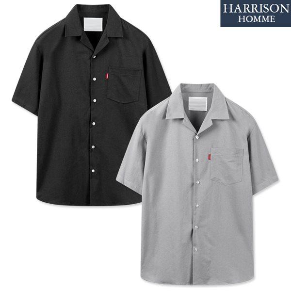 [해리슨] RC 무지 반팔 셔츠 MET1859