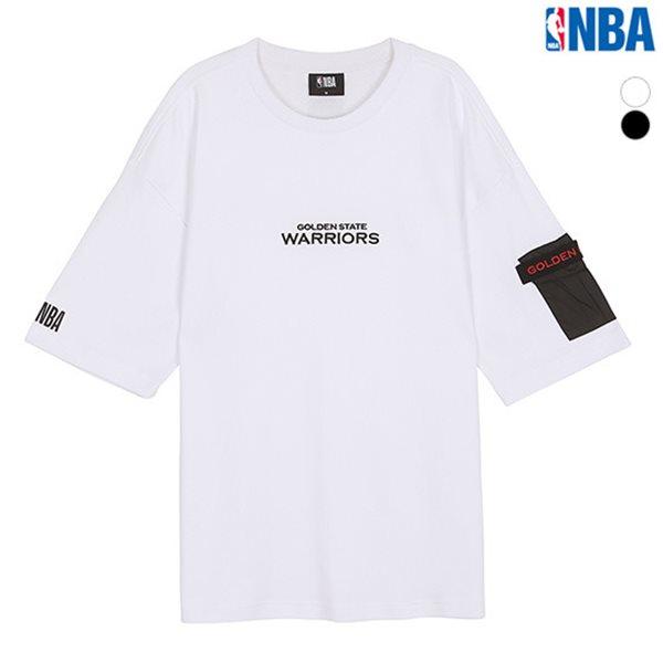 [NBA]GSW WARRIORS 우븐포켓 루즈핏 티셔츠(N182TS310P)