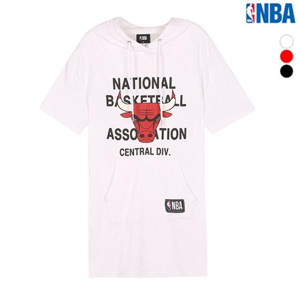 [NBA]CHI BULLS MESH 배색 후드(N182TH701P)