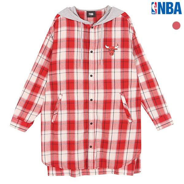 [NBA]CHI BULLS 후드 탈부착 시카고불스 롱셔츠(N182SH210P)