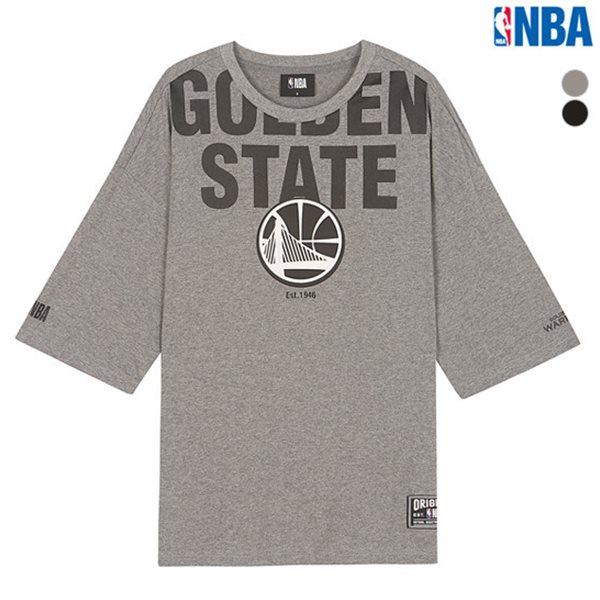 [NBA]CHI BULLS 고주파프린트 오버핏 티셔츠(N182TS020P)