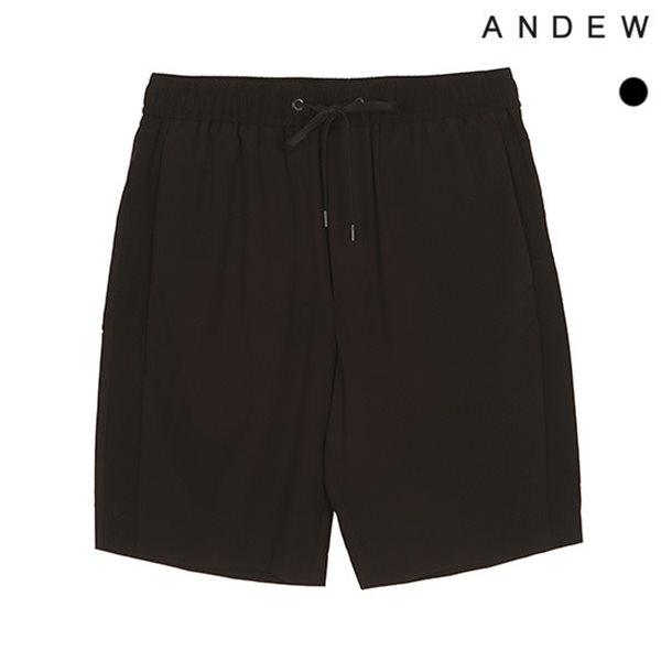 [ANDEW]남성 테이퍼드 5부 와끼배색 스트링 반바지(O182PT160P)