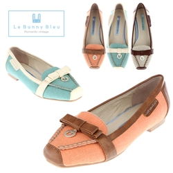 [���Ϻ��] Le Bunny Bleu Derby Loafers No.2747