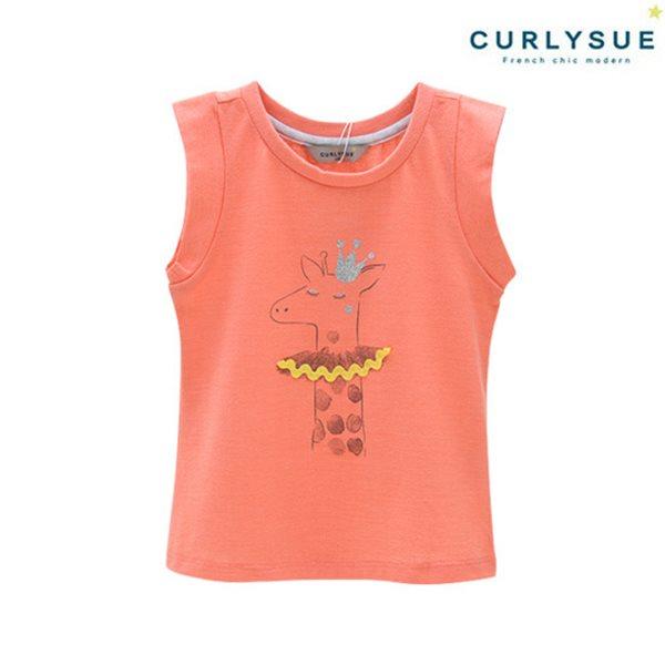 [컬리수] 쁘띠크라운 티셔츠 CNM3XATS02OR [여름]