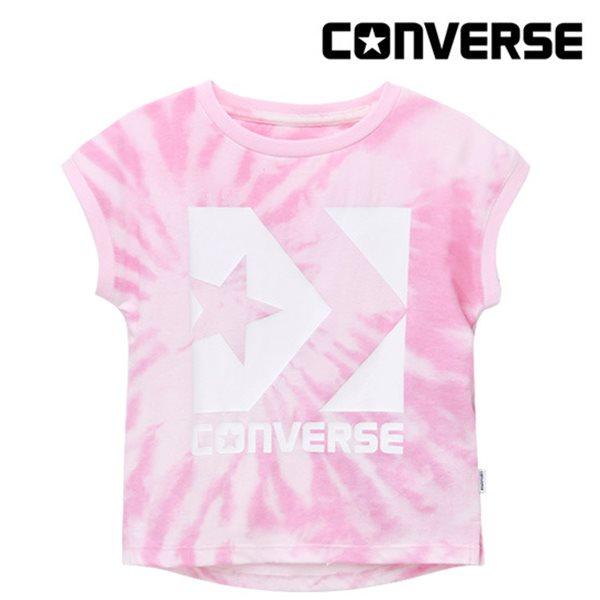 [컨버스키즈] 타이다이 티셔츠(반팔)L ENM11ATS87 (키즈)
