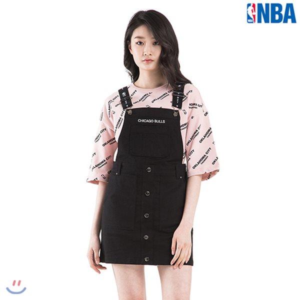 [NBA]CHI BULLS 자카드밴드 오버롤 원피스(N182OP721P)