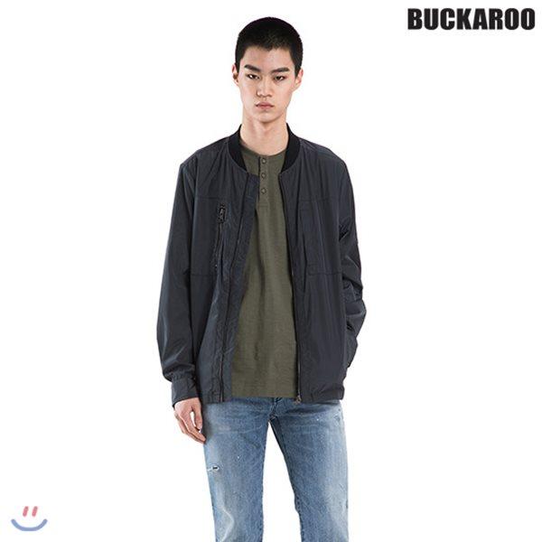 [BUCKAROO]남성 POLY 홑겹 스타디움 점퍼(B182JP410P)