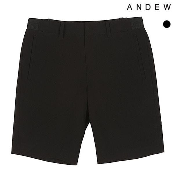 [ANDEW]남성 테이퍼드 5부 폴리스판 잔체크 반바지(O182PT150P)