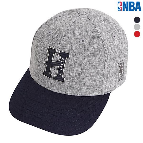 [NBA]CHA HORNETS 자수아트웍 HARD CURVED CAP(N185AP457P)