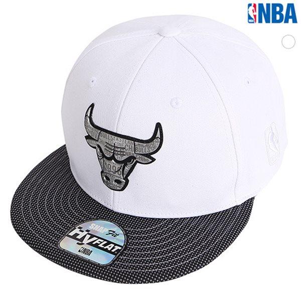 [NBA]CHI BULLS 로고프린트 HYFLAT CAP(N185AP616P)