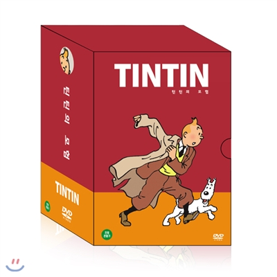 [DVD] TINTIN 틴틴의 모험 1집 7종 세트