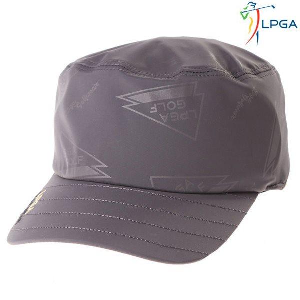 [LPGA]남) 플래그 패턴 프린트 군모(L175AP351P)