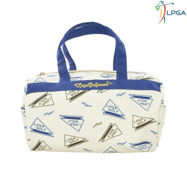 [LPGA]여) 깃발 패턴 토트백(L175AB653P)