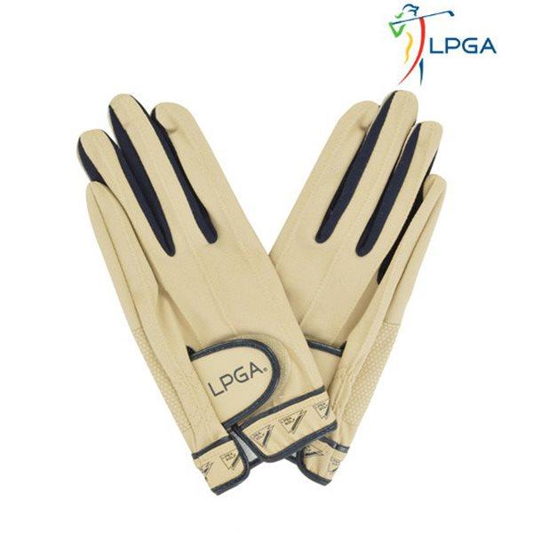 [LPGA]여) 손목 플래그 프린트 골프장갑(L175AG502P)