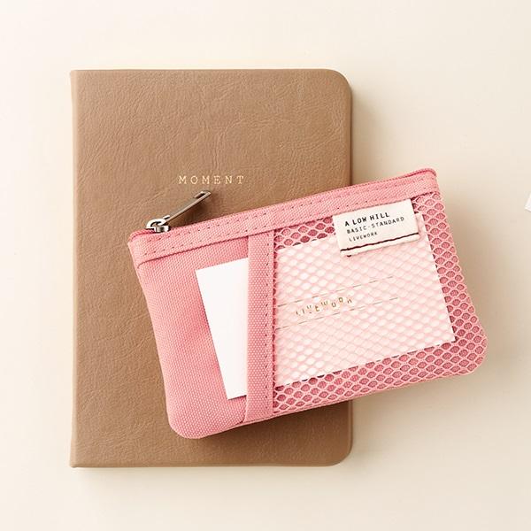 메쉬 포켓 미니 파우치 ver.2