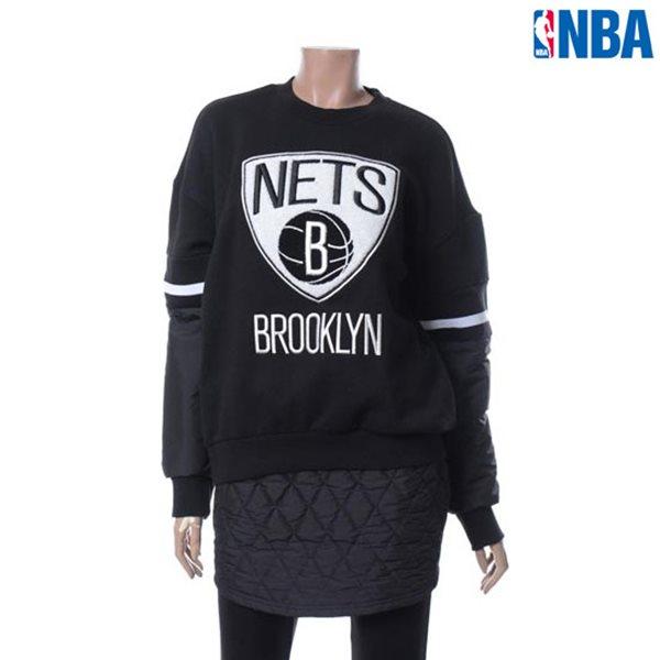 [NBA]BKN NE티셔츠 소매 우븐패치 로고 맨투맨(N154TS711P)