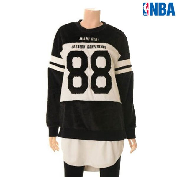 [NBA]MIA HEAT 단모보아 PU레이어드 LONG 맨투맨(N154TS722P)