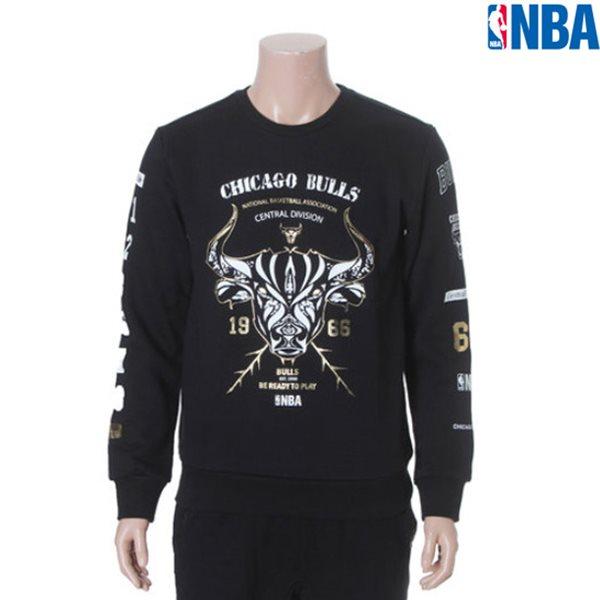 [NBA]CHI BULLS 변형 LOGO 맨투맨(N154TS323P)