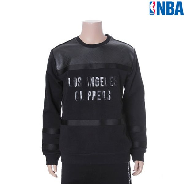 [NBA]LAC CLIPPERS TAPE 배색 맨투맨(N154TS324P)