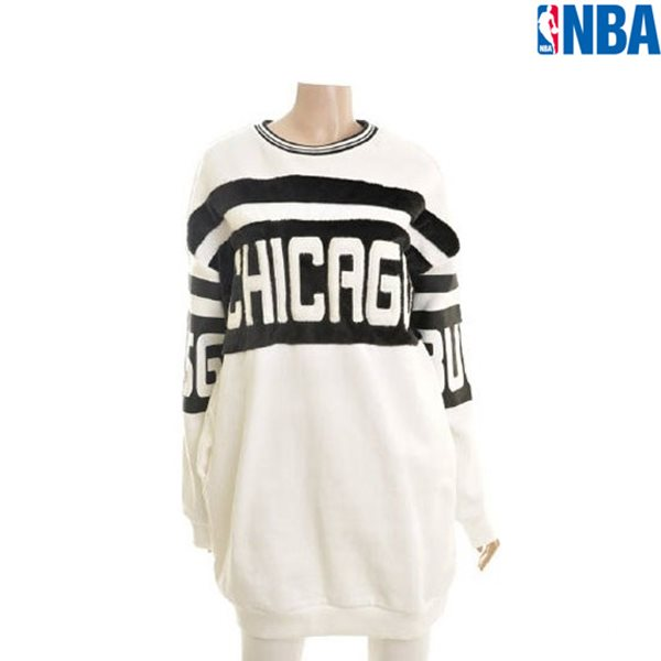 [NBA]CHI BULLS FUR BLOCK LONG 맨투맨(N154TS721P)