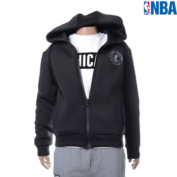 [NBA]MIA HEAT NEOPRENE HOODED 집업점퍼(N154TJ011P)