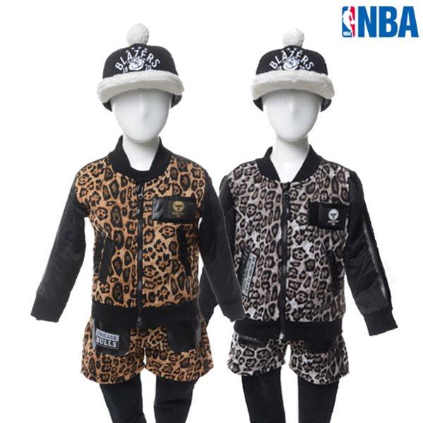 [NBA]아동용 CHI BULLS POLY 퀼팅 트레이닝 집업점퍼(N154TJ553P)