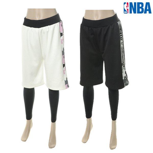 [NBA]NBA SIDE CAMO 반바지 레깅스(N154TP754P)