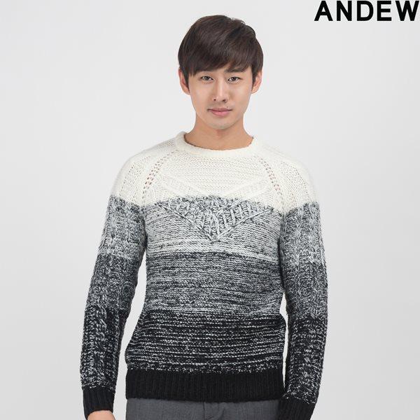 [ANDEW]남성 그라데이션 풀오버(O154KT103P)