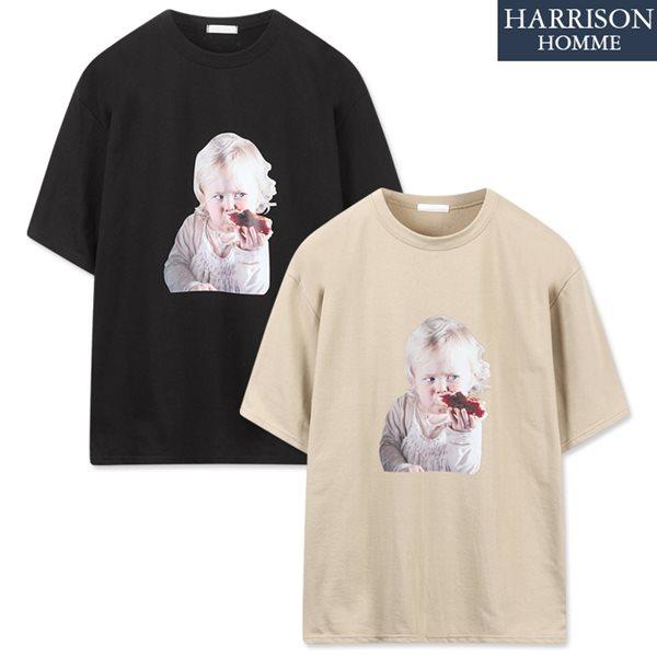 [해리슨] 딸기잼 반팔 티셔츠 NTC1351