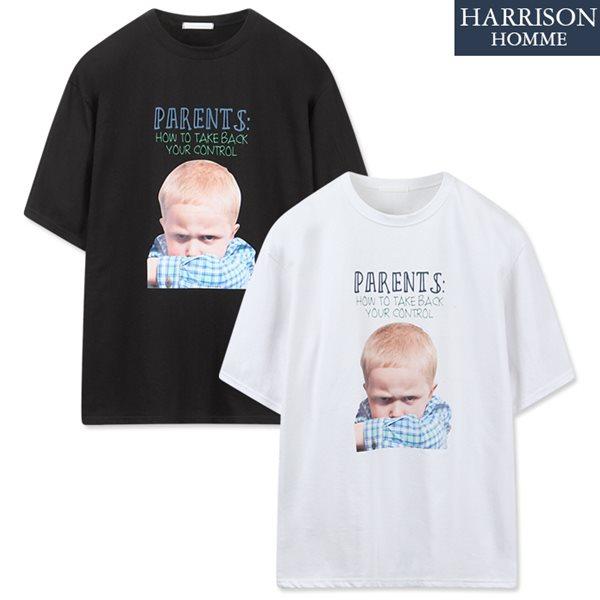 [해리슨] 페어런츠 반팔 티셔츠 NTC1352