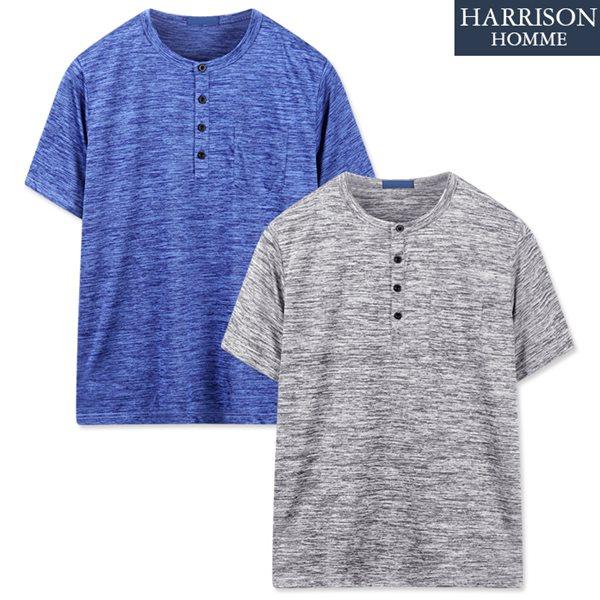 [해리슨] 라운드 반팔 티셔츠2 DDO1151